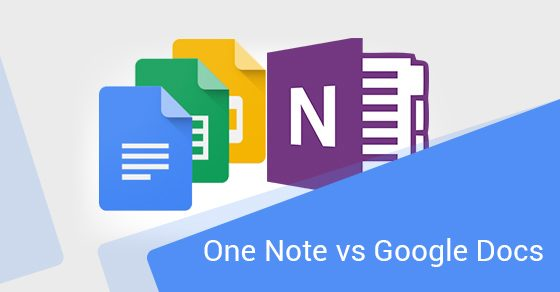 One Note vs Google Docs